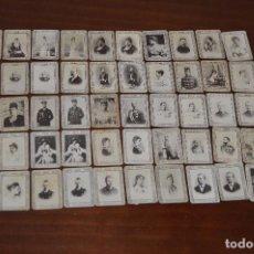 Coleccionismo Cromos antiguos: GRAN LOTE DE 51 CROMOS O FOTOTIPIAS DE CAJAS DE CERILLAS - DE LA SERIE 9 - MUY ANTIGUOS - HAZ OFERTA. Lote 103780839