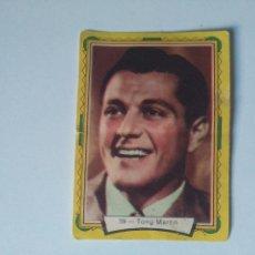 Coleccionismo Cromos antiguos: CROMOS ANTIGUOS ACTORES DE CINE HOLLYWOOD - AÑOS 50 - #59 TONY MARTIN. Lote 103924087