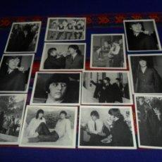 Coleccionismo Cromos antiguos: THE BEATLES LOTE DE 13 CROMO CROMOS SIN PEGAR. BRUGUERA 1966. MBE. TAMBIÉN SUELTOS.. Lote 68041918