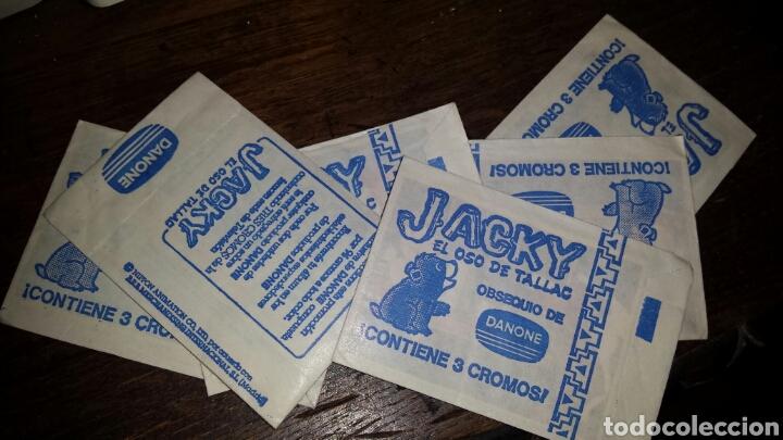 SOBRE DE CROMOS JACKY 6 UNIDADES (Coleccionismo - Cromos y Álbumes - Cromos Antiguos)