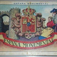 Coleccionismo Cromos antiguos: COLECCION COMPLETA 50 CROMOS CHOCOLATES. ESPAÑA MONUMENTAL. CHOCOLATE AMATLLER.. Lote 104826712