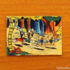 Coleccionismo Cromos antiguos: LOS TRES CERDITOS Y CAPERUCITA ROJA CONTRA EL LOBO FEROZ - CROMO, Nº 217 - EDITORIAL BRUGUERA 1945. Lote 105241839