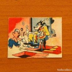 Coleccionismo Cromos antiguos: LOS TRES CERDITOS Y CAPERUCITA ROJA CONTRA EL LOBO FEROZ - CROMO, Nº 200 - EDITORIAL BRUGUERA 1945. Lote 105242215