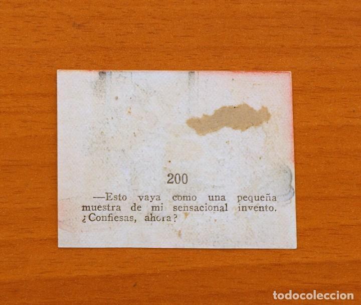 Coleccionismo Cromos antiguos: Los tres cerditos y Caperucita Roja contra el Lobo Feroz - Cromo, nº 200 - Editorial Bruguera 1945 - Foto 2 - 105242215