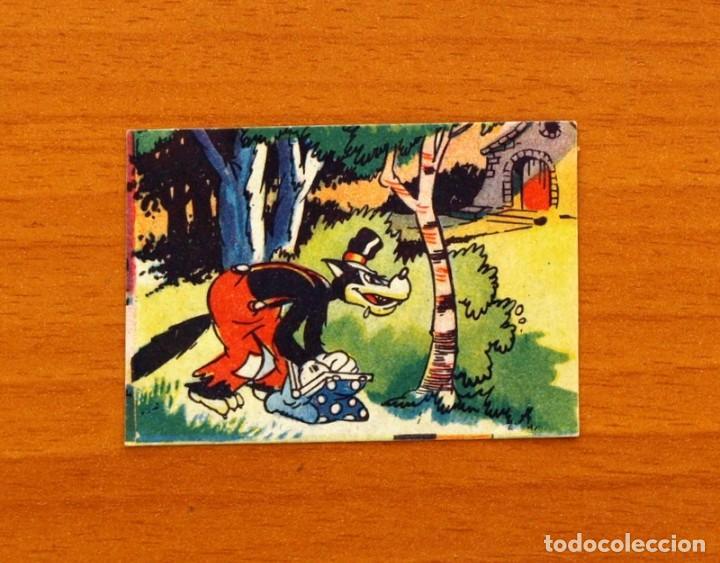 LOS TRES CERDITOS Y CAPERUCITA ROJA CONTRA EL LOBO FEROZ - CROMO, Nº 141 - EDITORIAL BRUGUERA 1945 (Coleccionismo - Cromos y Álbumes - Cromos Antiguos)