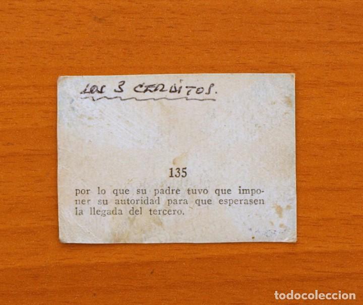 Coleccionismo Cromos antiguos: Los tres cerditos y Caperucita Roja contra el Lobo Feroz - Cromo, nº 135 - Editorial Bruguera 1945 - Foto 2 - 105242723