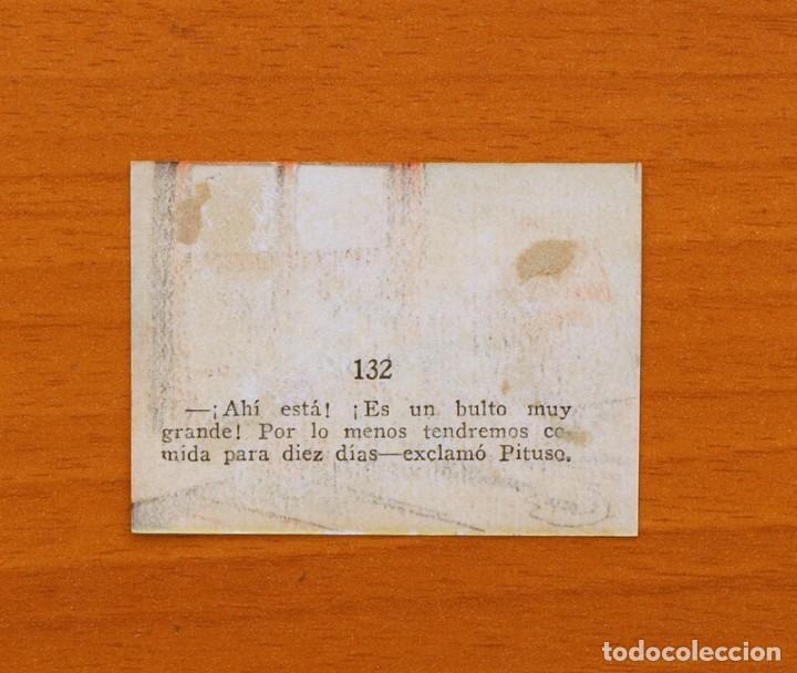 Coleccionismo Cromos antiguos: Los tres cerditos y Caperucita Roja contra el Lobo Feroz - Cromo, nº 132 - Editorial Bruguera 1945 - Foto 2 - 105243231