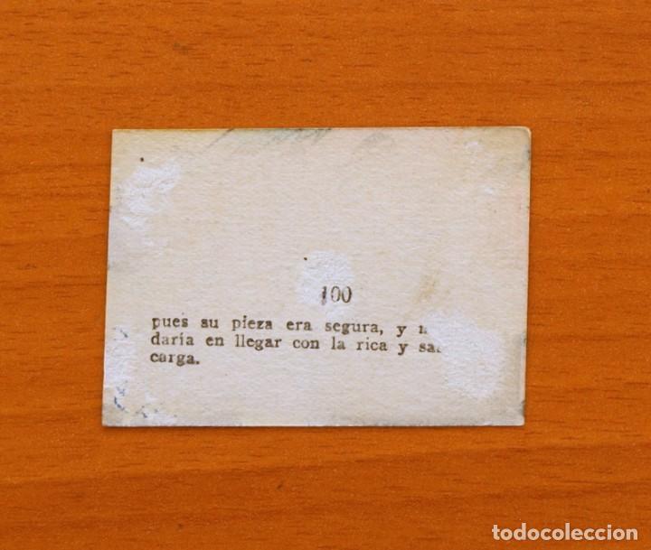 Coleccionismo Cromos antiguos: Los tres cerditos y Caperucita Roja contra el Lobo Feroz - Cromo, nº 100 - Editorial Bruguera 1945 - Foto 2 - 105243351
