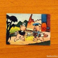 Coleccionismo Cromos antiguos: LOS TRES CERDITOS Y CAPERUCITA ROJA CONTRA EL LOBO FEROZ - CROMO, Nº 80 - EDITORIAL BRUGUERA 1945. Lote 105243391