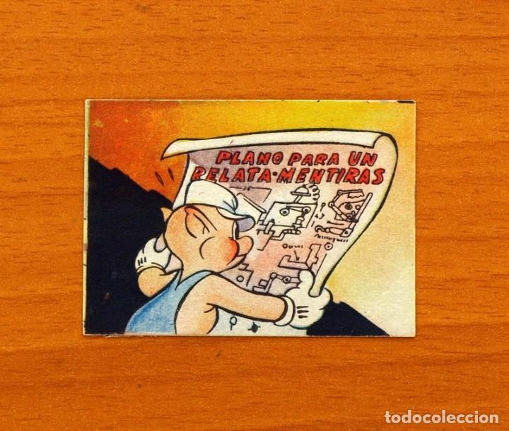 LOS TRES CERDITOS Y CAPERUCITA ROJA CONTRA EL LOBO FEROZ - CROMO, Nº 71 - EDITORIAL BRUGUERA 1945 (Coleccionismo - Cromos y Álbumes - Cromos Antiguos)