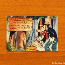 Coleccionismo Cromos antiguos: LOS TRES CERDITOS Y CAPERUCITA ROJA CONTRA EL LOBO FEROZ - CROMO, Nº 6 - EDITORIAL BRUGUERA 1945. Lote 105243555