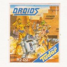 Coleccionismo Cromos antiguos: PILAS TUDOR -- DROIDS -- (STAR WARS ) -- R2-D2. Lote 105871311
