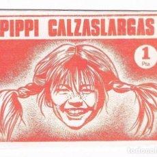 Coleccionismo Cromos antiguos: LOTE 4 SOBRES DE CROMOS PIPPI CALZASLARGAS FHER SIN ABRIR. Lote 105375795