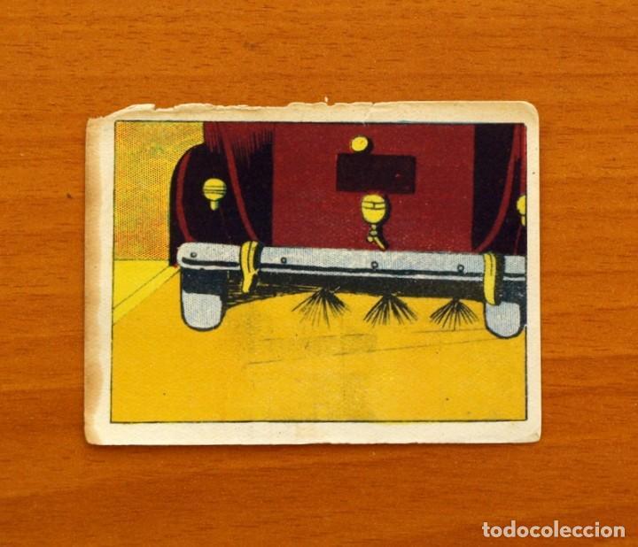 LOS CRÍMENES DEL FANTASMA - Nº 18 - BAGUÑA HERMANOS 1946 - CINEGRAMA PITUCO - NUNCA PEGADO (Coleccionismo - Cromos y Álbumes - Cromos Antiguos)