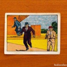 Coleccionismo Cromos antiguos: LOS CRÍMENES DEL FANTASMA - Nº 20 - BAGUÑA HERMANOS 1946 - CINEGRAMA PITUCO - NUNCA PEGADO. Lote 105459551