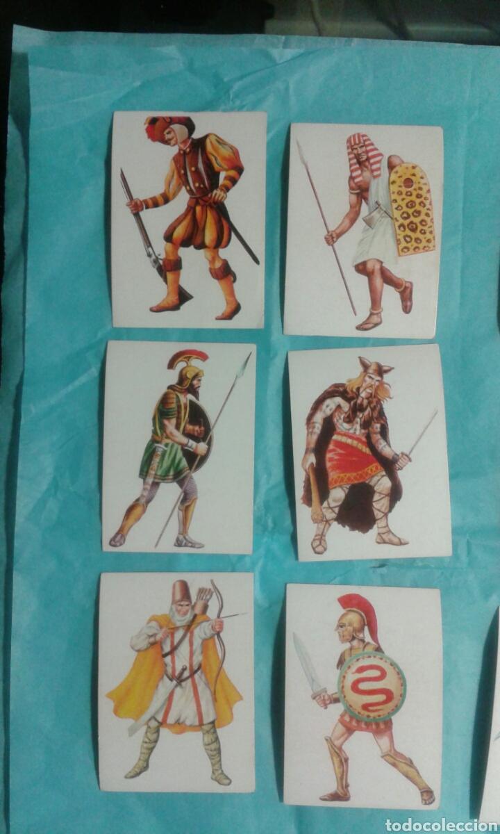 Coleccionismo Cromos antiguos: 82 Cromos historia ficcion - Foto 7 - 105752419