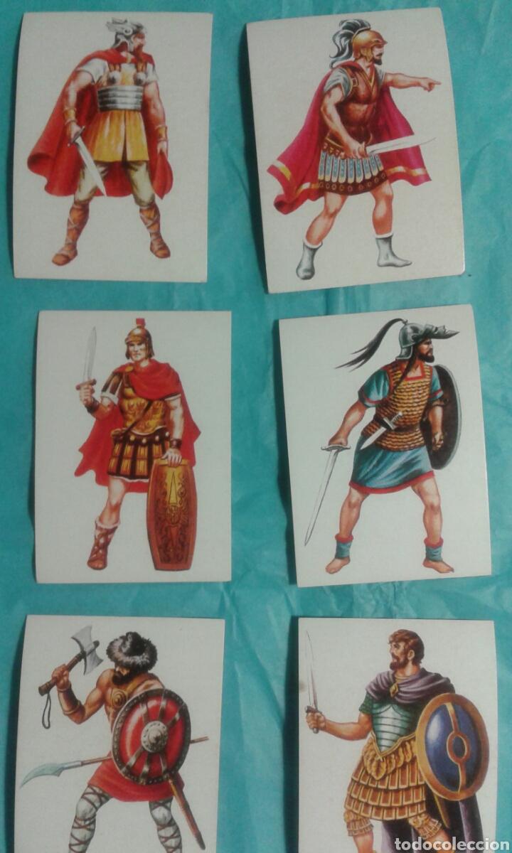 Coleccionismo Cromos antiguos: 82 Cromos historia ficcion - Foto 8 - 105752419