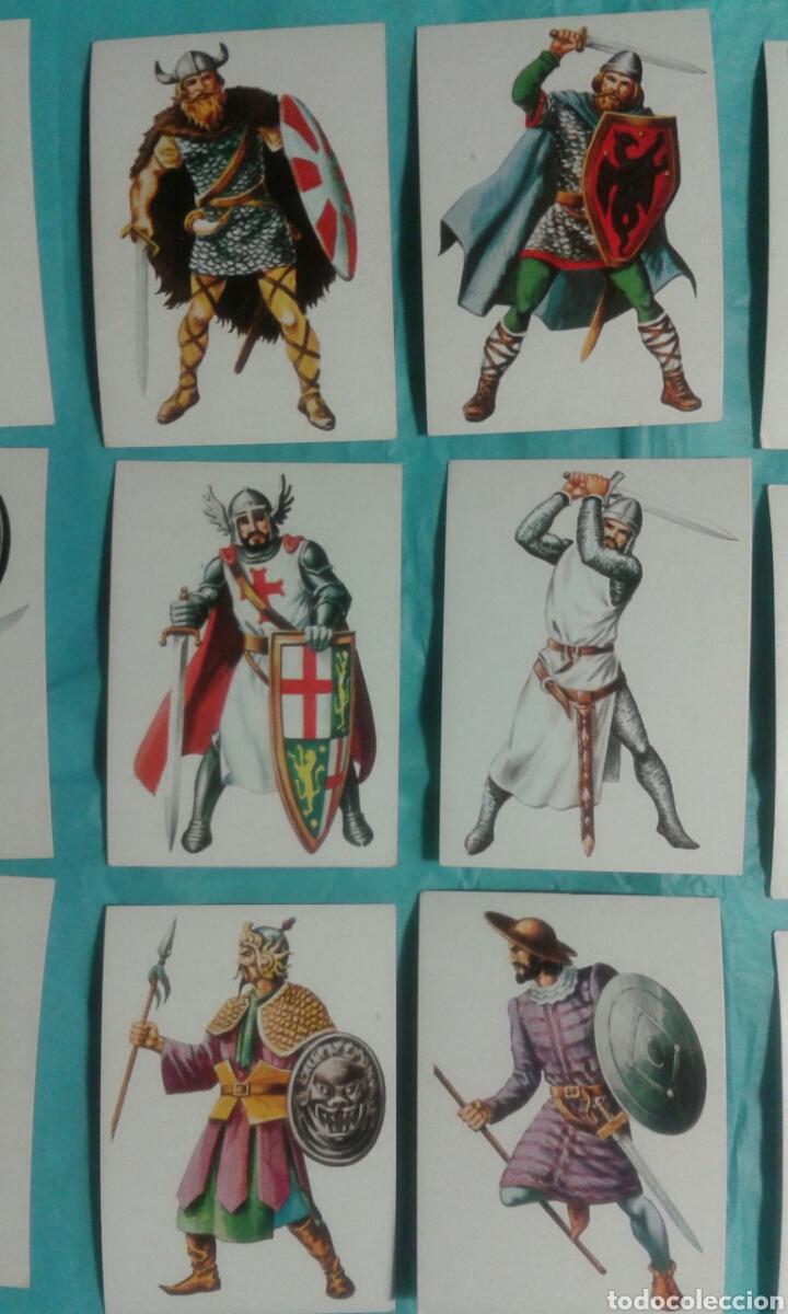 Coleccionismo Cromos antiguos: 82 Cromos historia ficcion - Foto 10 - 105752419