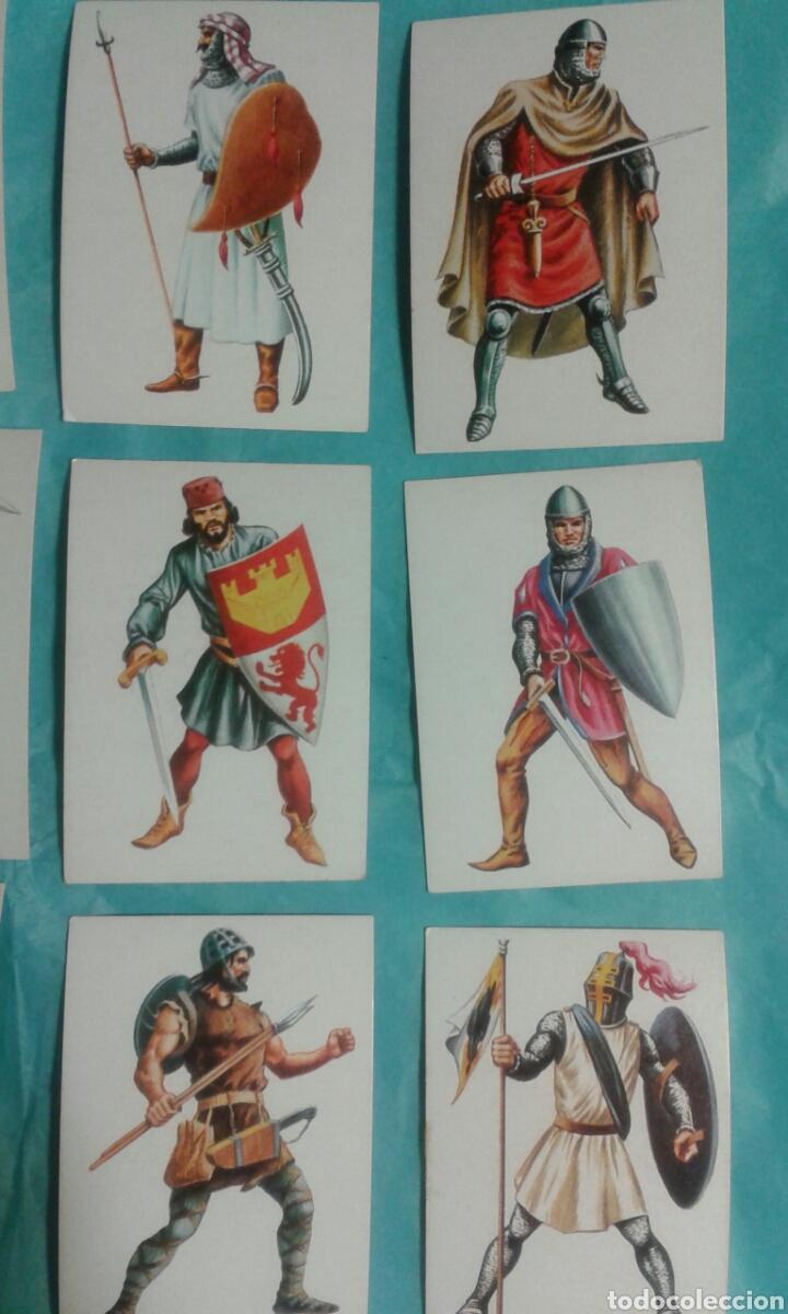Coleccionismo Cromos antiguos: 82 Cromos historia ficcion - Foto 11 - 105752419
