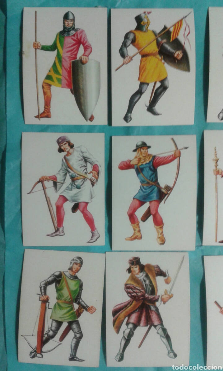 Coleccionismo Cromos antiguos: 82 Cromos historia ficcion - Foto 12 - 105752419
