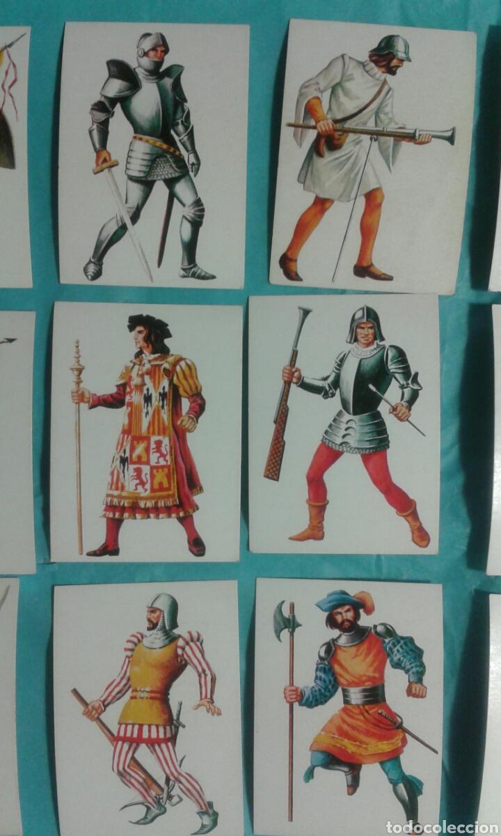 Coleccionismo Cromos antiguos: 82 Cromos historia ficcion - Foto 13 - 105752419