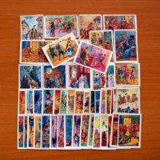 Coleccionismo Cromos antiguos: LOS TRES MOSQUETEROS - COMPLETA, 50 CROMOS - PUBLICIDAD CHOCOLATE AMATLLER. Lote 105826863