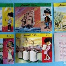 Coleccionismo Cromos antiguos: LOTE DE CROMOS. CROMOS SUELTOS; 1,20 €. COLECCIÓN 2º ÁLBUM SAMALLI EDUCADOR. CHOCOLATE SAMALLI, 1965. Lote 105977315
