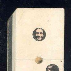 Coleccionismo Cromos antiguos: CROMO-FICHA DE CARTON GRUESO DEL DOMINO ARTISTICO: CINE. UNO-DOS (1-2). CHOC.BOIX. Lote 106123675