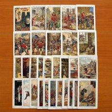 Coleccionismo Cromos antiguos: NUESTRA SEÑORA DE PARIS - VICTOR HUGO - COMPLETA 30 CROMOS - CHOCOLATES JAIME BOIX. Lote 106125387