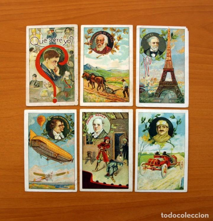 Coleccionismo Cromos antiguos: Qué seré yo? - Colección completa 25 cromos - Publicidad Chocolates y Bombones F. Camps - Foto 2 - 106130331