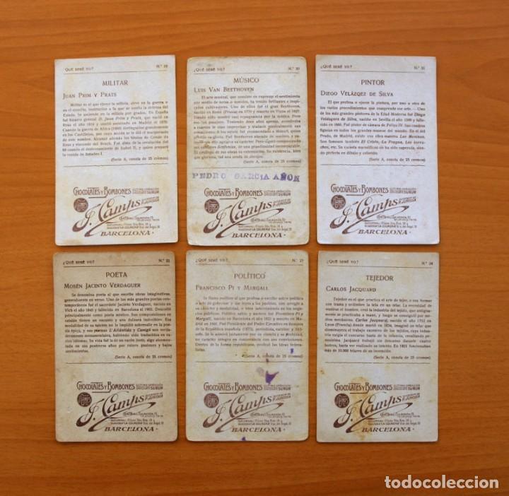 Coleccionismo Cromos antiguos: Qué seré yo? - Colección completa 25 cromos - Publicidad Chocolates y Bombones F. Camps - Foto 9 - 106130331