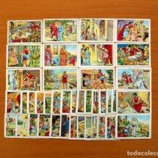 Coleccionismo Cromos antiguos: QUO VADIS...? - COLECCIÓN COMPLETA 40 CROMOS - PUBLICIDAD CHOCOLATES AMATLLER. Lote 106131483