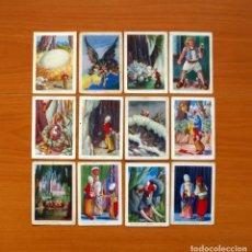 Coleccionismo Cromos antiguos: SIMBAD EL MARINO - COLECCIÓN COMPLETA 12 CROMOS - PUBLICIDAD CHOCOLATES EVARISTO JUNCOSA PAÑELLA. Lote 106138335