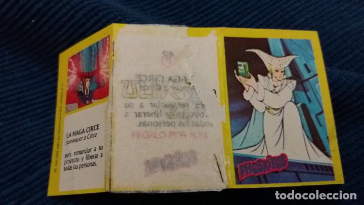 Coleccionismo Cromos antiguos: DIFÍCIL CROMO TRÍPTICO ULISES 31 PHOSKITOS CAPITULO LA MAGA CIRCE CON TIRA SIN PUNTOS N 42 - Foto 3 - 97882079