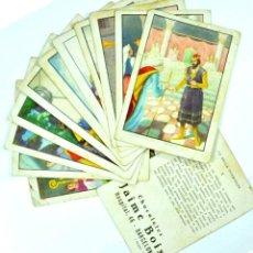 Coleccionismo Cromos antiguos: LA BELLA DURMIENTE, COLECCIÓN COMPLETA 12 CROMOS, CHOCOLATES JAIME BOIX. Lote 106971531