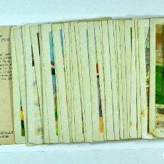 Coleccionismo Cromos antiguos: AVENTURAS EXTRAORDINARIAS DE CAÑETE, CLORATO Y SU FIEL AMIGO PUM, COLECCIÓN COMPLETA 36 CROMOS. Lote 106971619