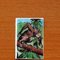 Coleccionismo Cromos antiguos: CROMOS DE PIPAS - SERIE TARZÁN Nº 21 - PIPAS TOSTAVAL AÑOS 70. Lote 107636463