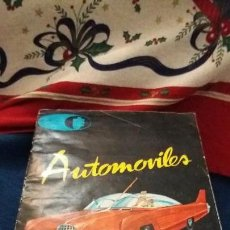 Coleccionismo Cromos antiguos: CROMO CROMOS ÁLBUM AUTOMOVILES JUFE. LEER. Lote 136094872