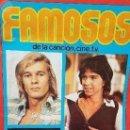 Coleccionismo Cromos antiguos: FAMOSOS. LOTE 75 CROMOS. TAMBIEN SUELTOS. Lote 107965871