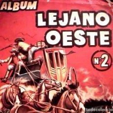 Coleccionismo Cromos antiguos: LEJANO OESTE Nº 2. LOTE 120 CROMOS. TAMBIEN SUELTOS. Lote 107968139