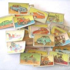 Coleccionismo Cromos antiguos: 150 CROMOS HISTORIA DEL AUTOMOVIL. Lote 108295395