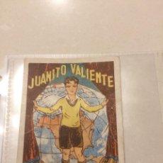 Coleccionismo Cromos antiguos: 18 CROMOS - JUANITO VALIENTE - CHOCOLATE AMATLLER. Lote 108384555