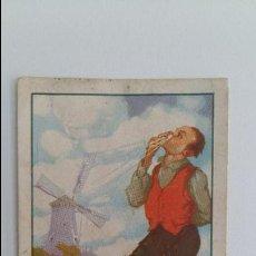 Coleccionismo Cromos antiguos: CROMO AVENTURAS DEL BARON DE LA CASTAÑA. PRIMITIVA INDIANA CHOCOLATES FINOS GIJON. Lote 108696531