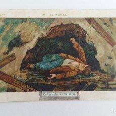 Coleccionismo Cromos antiguos: CROMO CATASTROFE EN LA MINA. CHOCOLATE AMATLLER. BARCELONA. FECHADO A LAPIZ EN 1921. Lote 108696691