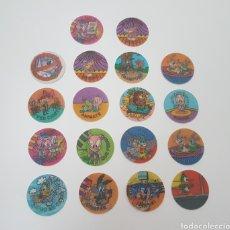 Coleccionismo Cromos antiguos: LOTE 18 MAGIC TAZO MATUTANO 1994 EFECTO OPTICO. Lote 109138040