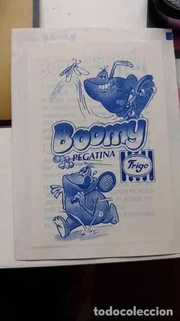 Coleccionismo Cromos antiguos: pegatina frigo boomy en envoltorio original - Foto 2 - 109404035