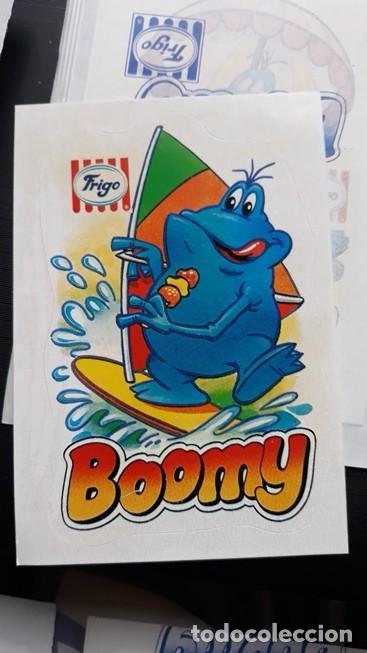 Coleccionismo Cromos antiguos: pegatina frigo boomy en envoltorio original - Foto 3 - 109404035