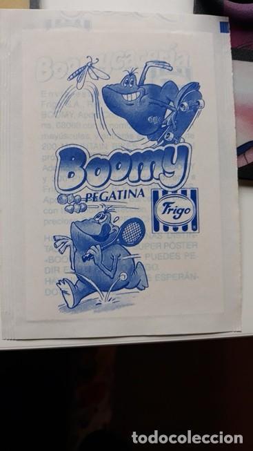 Coleccionismo Cromos antiguos: pegatina frigo boomy en envoltorio original - Foto 2 - 109404051