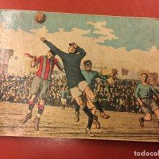 Coleccionismo Cromos antiguos: ANTIGUO CROMO LOS GRANDES PARTIDOS DE FUTBOL - FC BARCELONA - CROOK TOWN - PRIMERA EDICION. . Lote 109482579