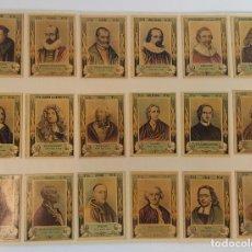 Coleccionismo Cromos antiguos: COLECCION DE 754 FOTOTIPIAS. CAJAS DE CERILLAS. 10 SERIES COMPLETAS. SIGLO XX. . Lote 109541087